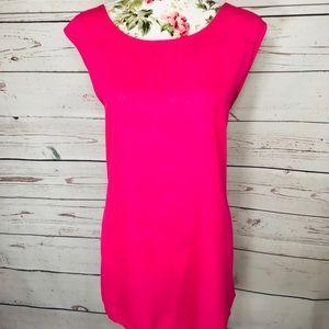 Vintage feel 3X brandless pink bow blouse
